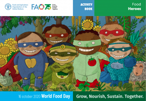 World Food Day Activity Book
