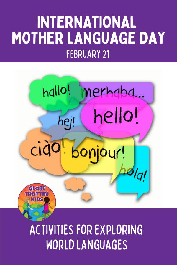 International Mother Language Day Activities