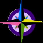 compass-rose-purple