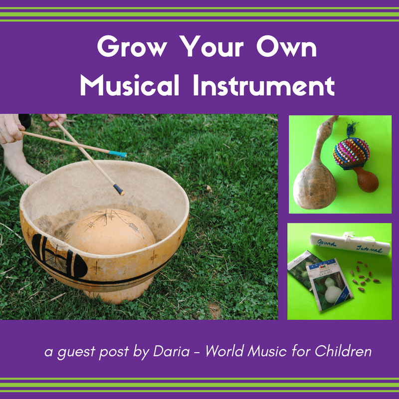 Grow Your Own Musical Instrument