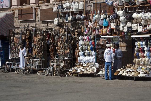 bazaar (street market)