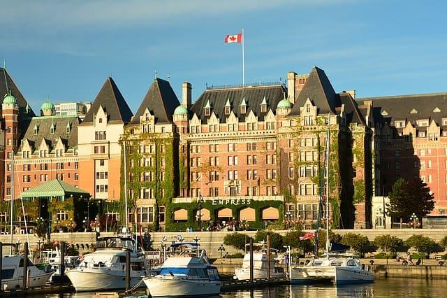 Empress Hotel  Victoria, BC