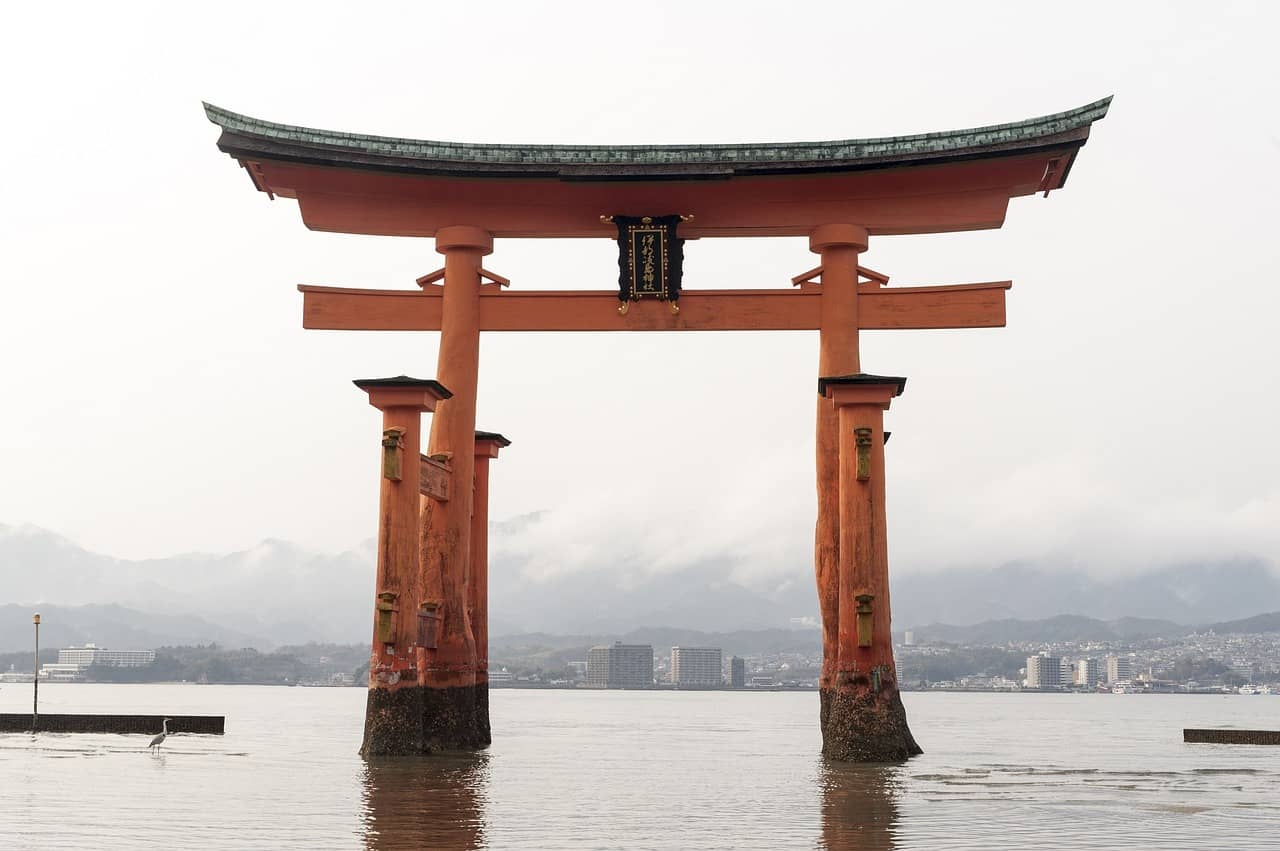 The Great Torii of Miyajima