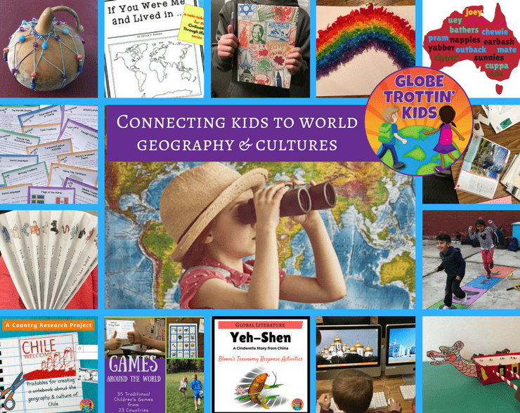 Connecting kids to world geography & cultures