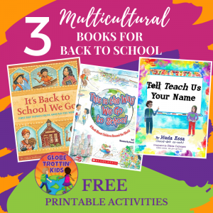 3 Multicultural Books for Back to School