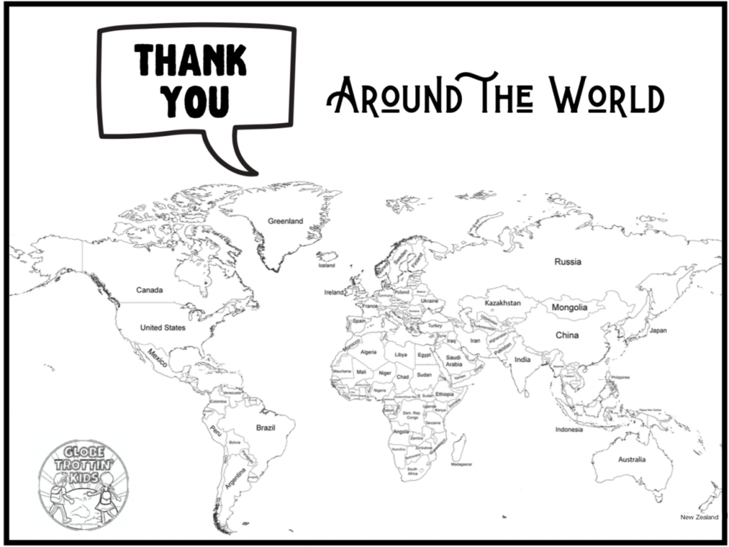 Thank You Around the World