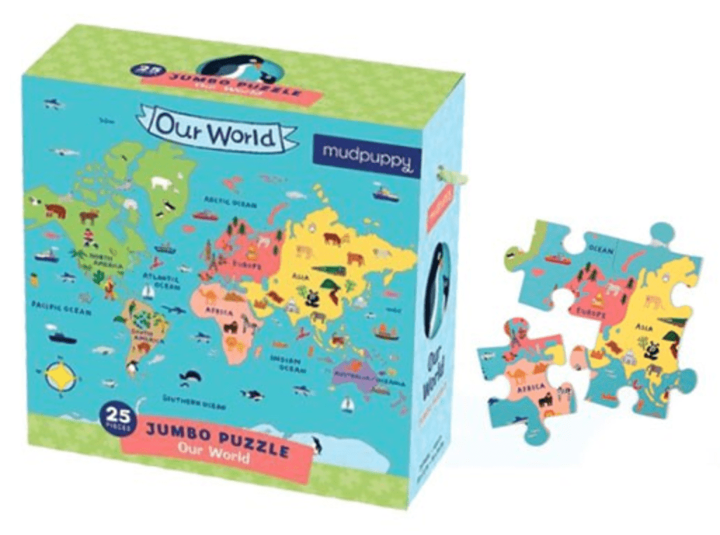 Our World Jumbo Floor Puzzle