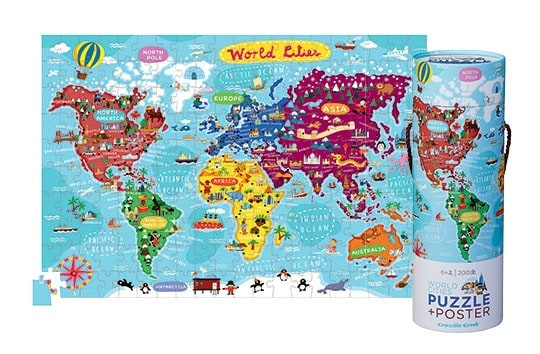 World Cities Poster Puzzle