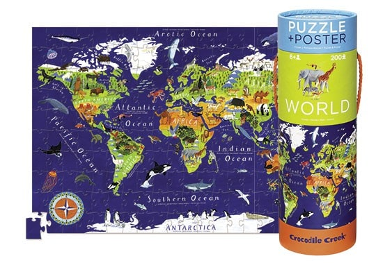 World Poster Puzzle