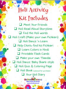 Holi Activity Kit