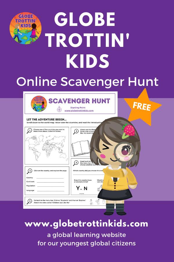 Online Scavenger Hunt