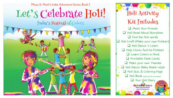 Let's Celebrate Holi