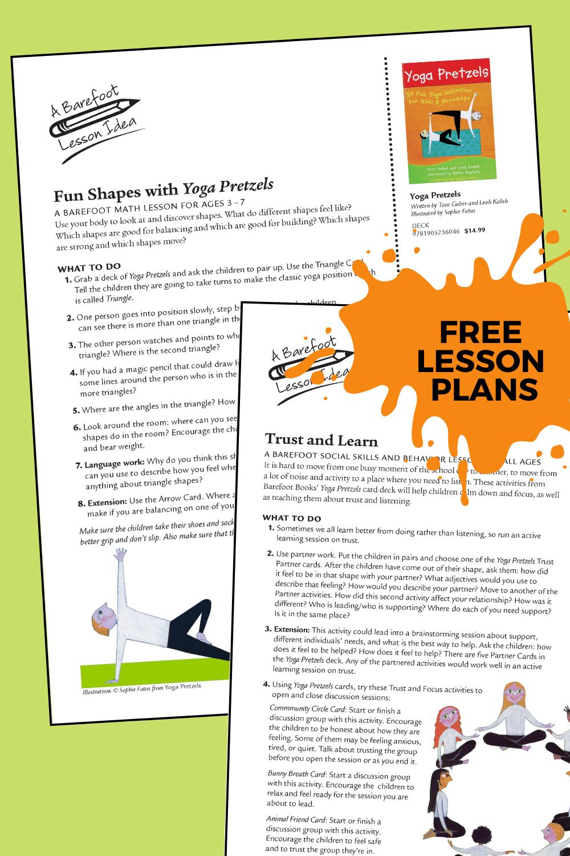 Free Yoga Lesson Ideas