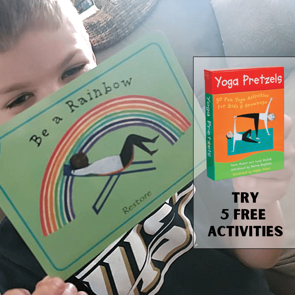 Yoga Activities for Kids and Grownups