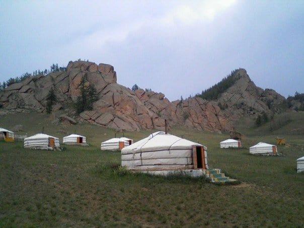 Mongolian tent house