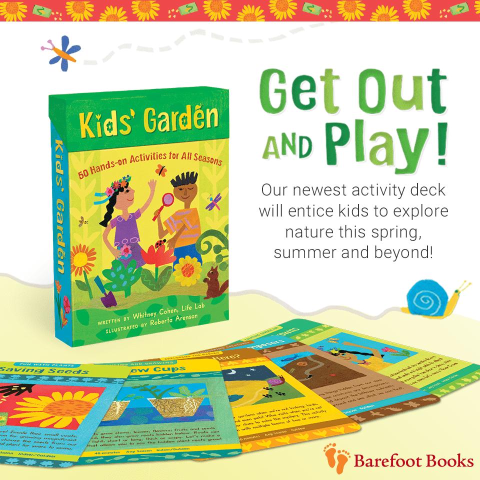 Kids Garden Activity Deck