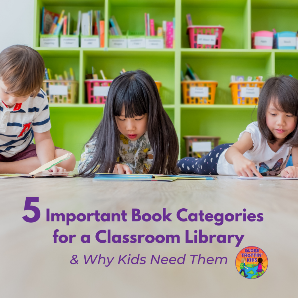 5 important books categories for classroom library