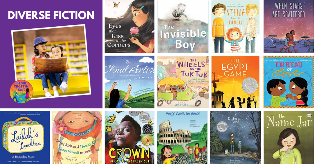 diverse fiction books for classroom library