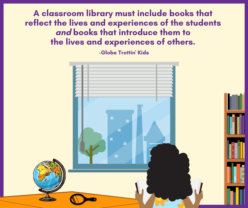 classroom library books must provide windows and mirrors for students