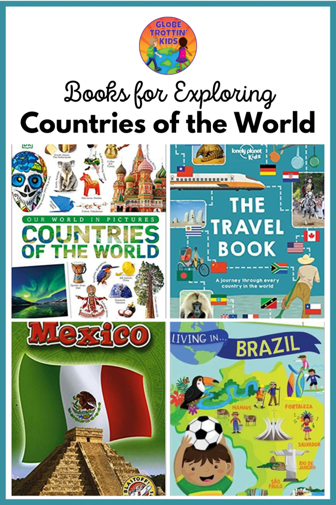 books for exploring countries of the world