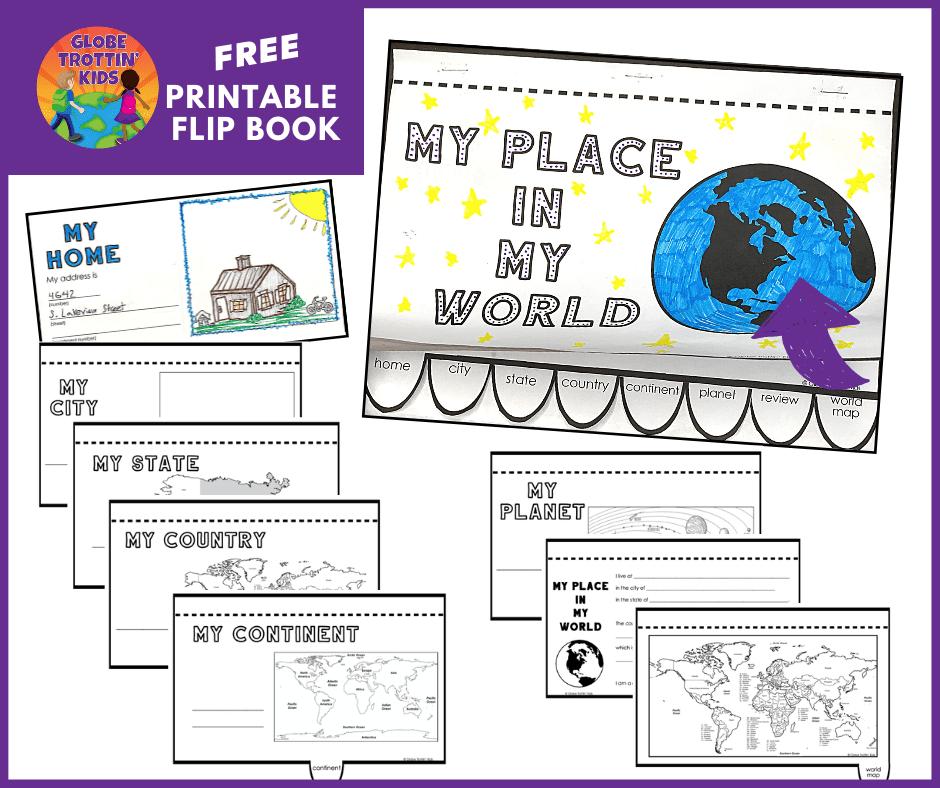 free printable flip book