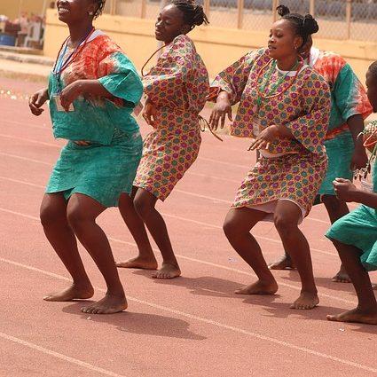 Yorùbá dancers