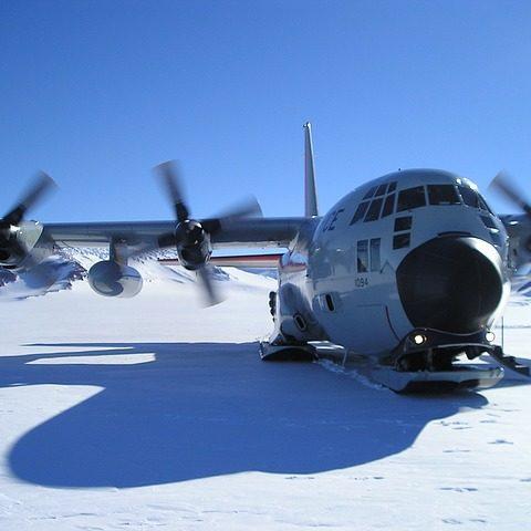 plane @ Mcmurdo Station