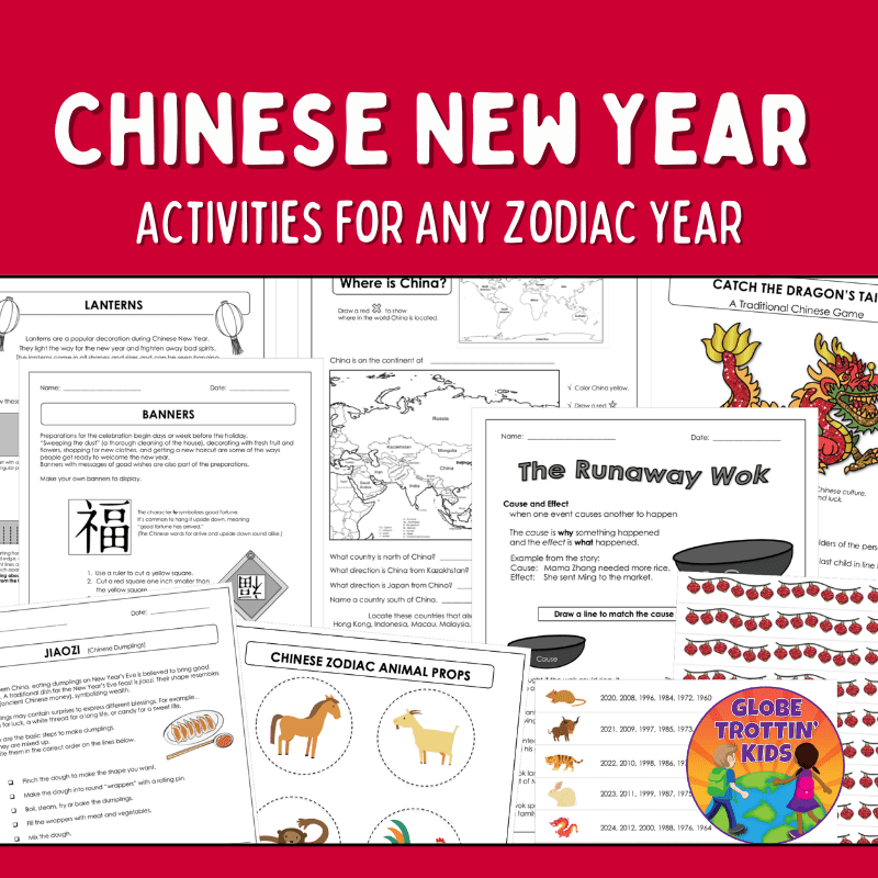 Chinese New Year Activities for Any Zodiac Year