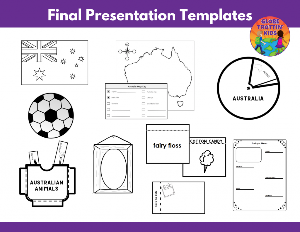 interactive templates for Australia Research Project