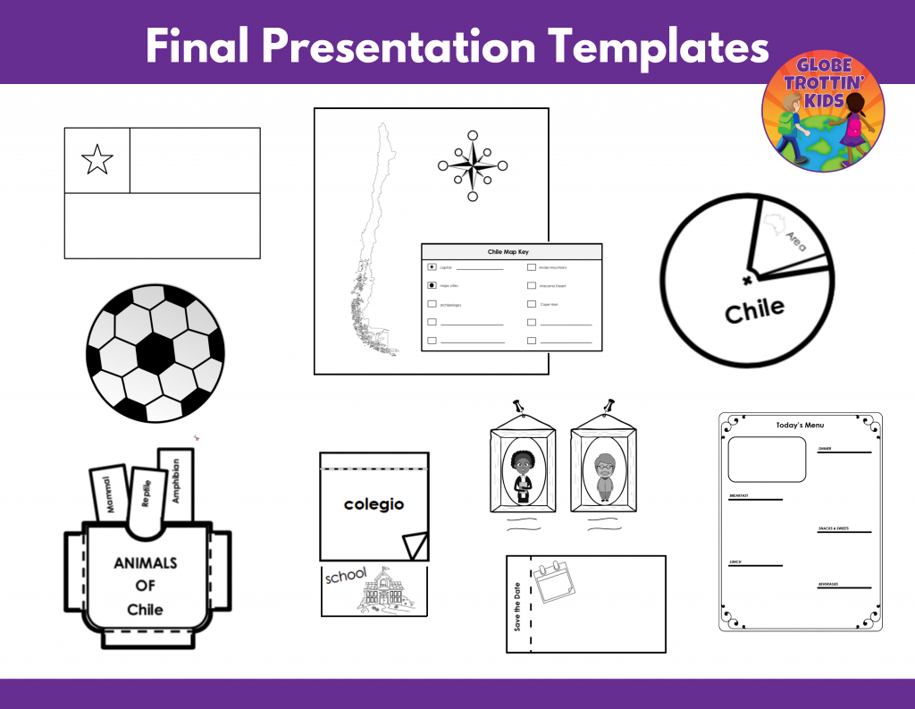 templates for Chile research project